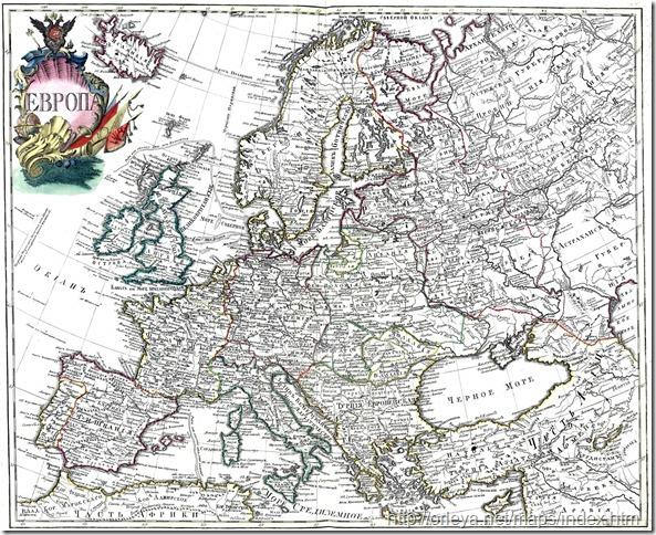 Пример картографической иллюстрации